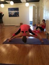 Standing Seperate Leg Stretching Pose